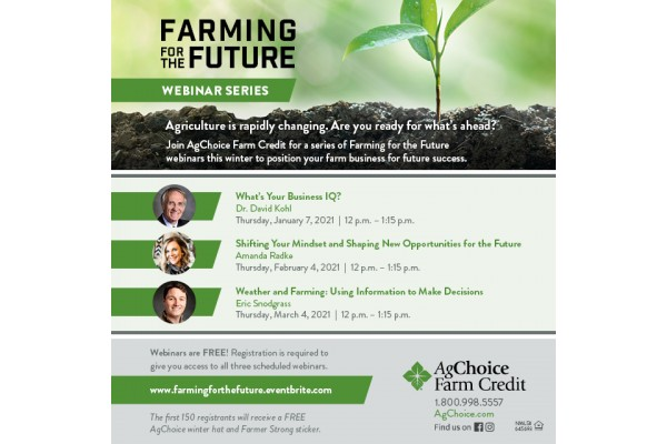 Farming for the Future Webinar Series
