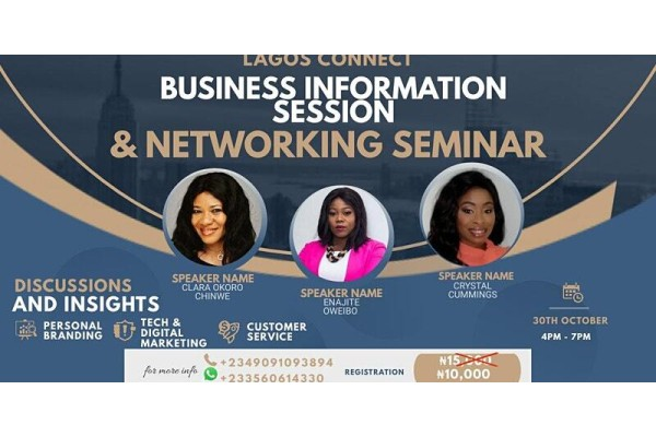 Lagos Connect Business Information Session & Networking Seminar
