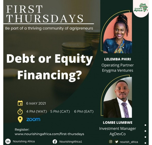 May Edition (2021) - Debt or Equity Financing?
