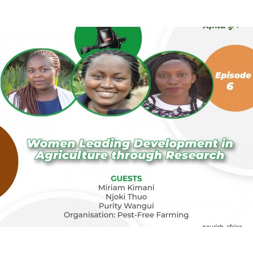 Women Leading Development in Agriculture Through Research