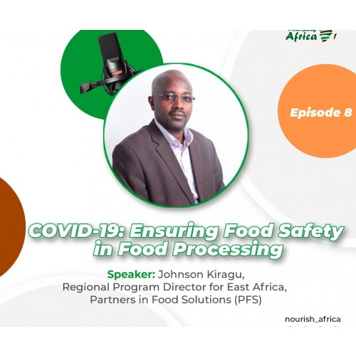 COVID19: Ensuring Food Safety in Food Processing