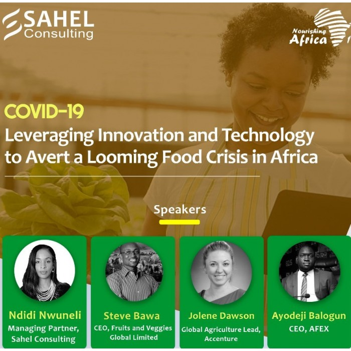 COVID-19: Leveraging Innovation and Technology to Avert a Looming Food Crisis in Africa